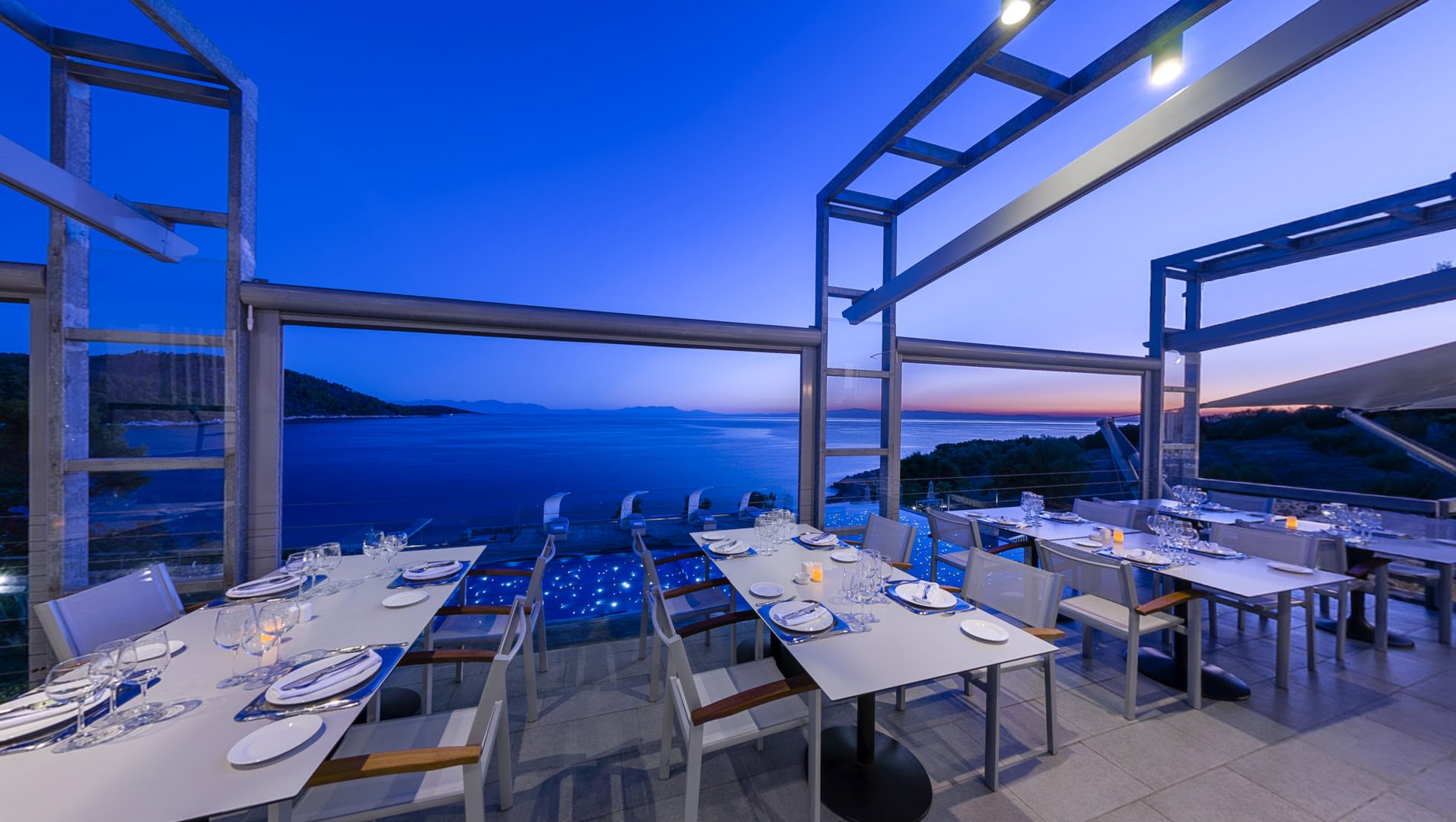 skopelos restaurants adrina resort dinner restaurant 02