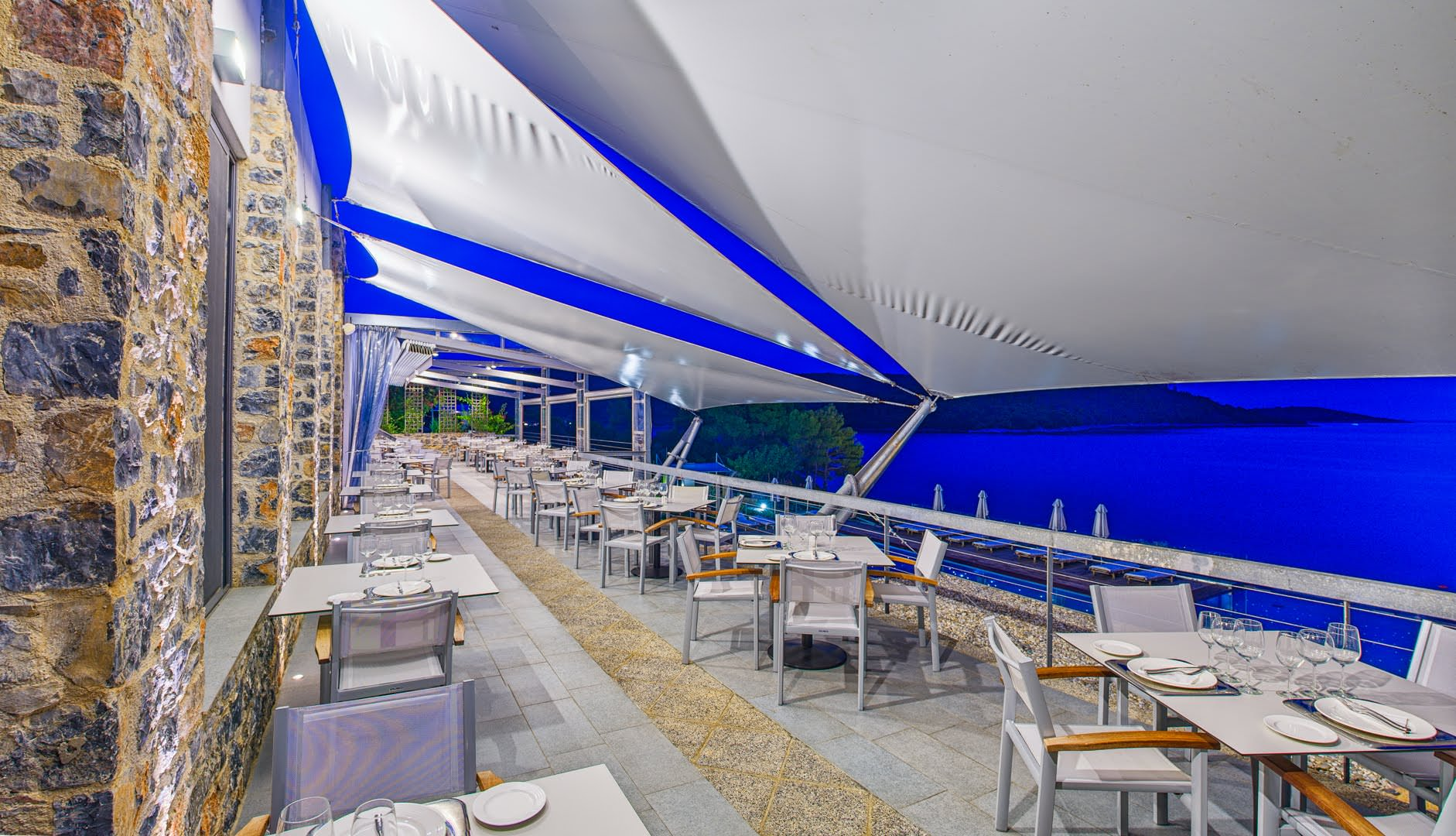 skopelos restaurants adrina resort dinner restaurant 06