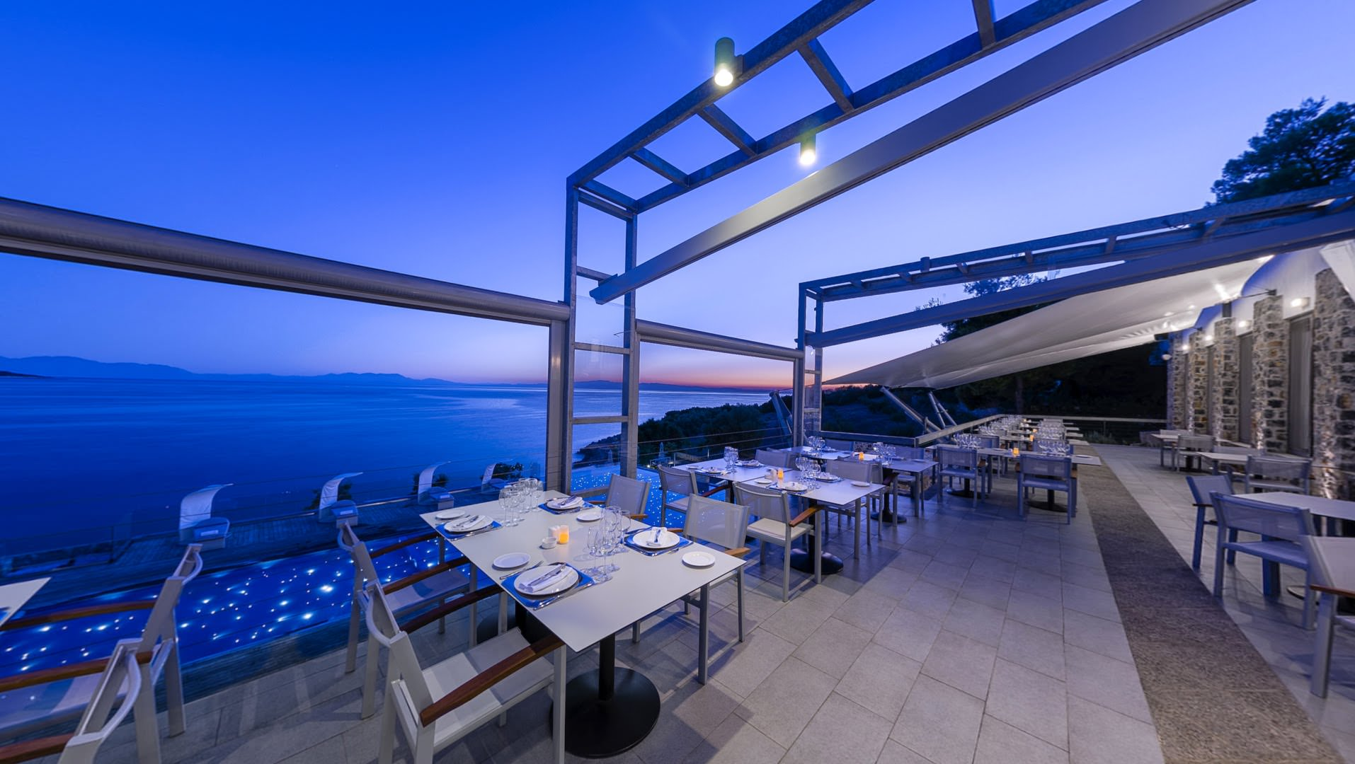 skopelos restaurants adrina resort dinner restaurant 29
