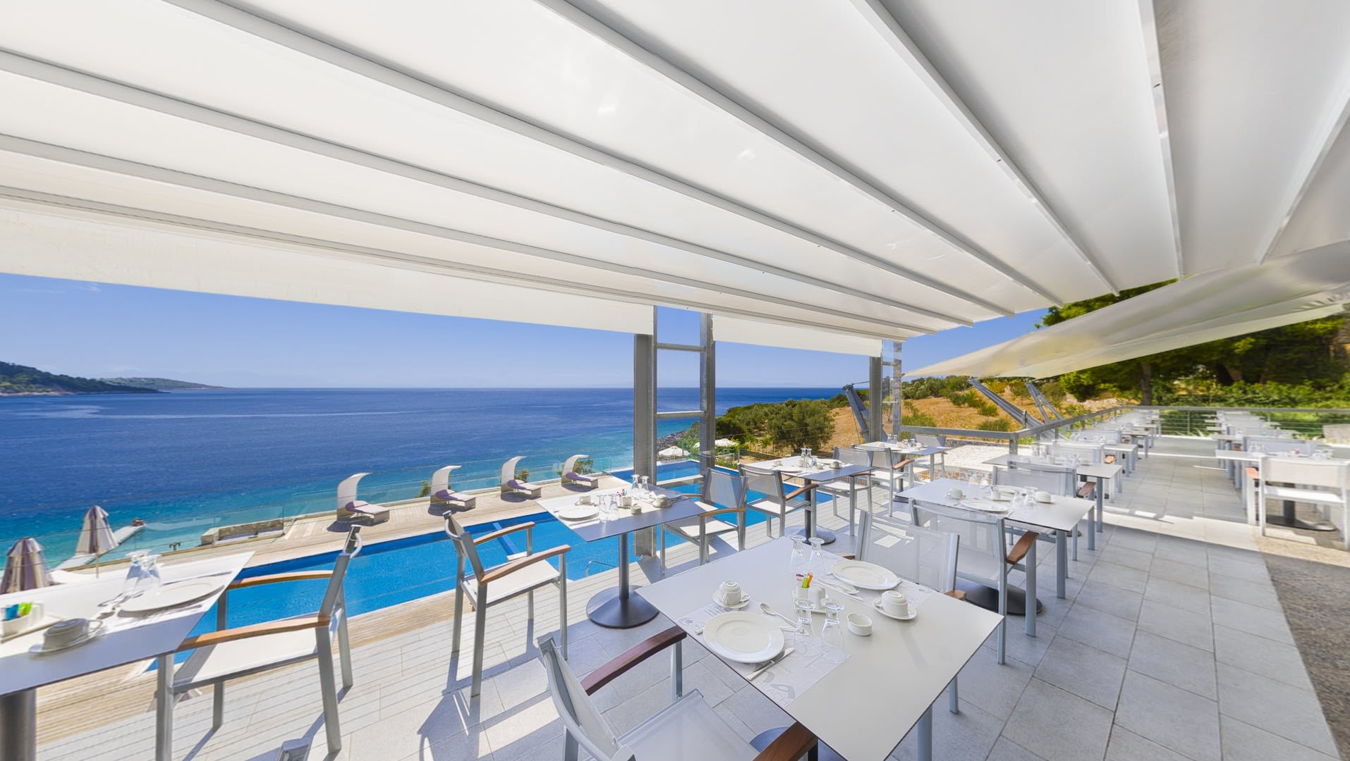 skopelos hotels adrina resort breakfast 5