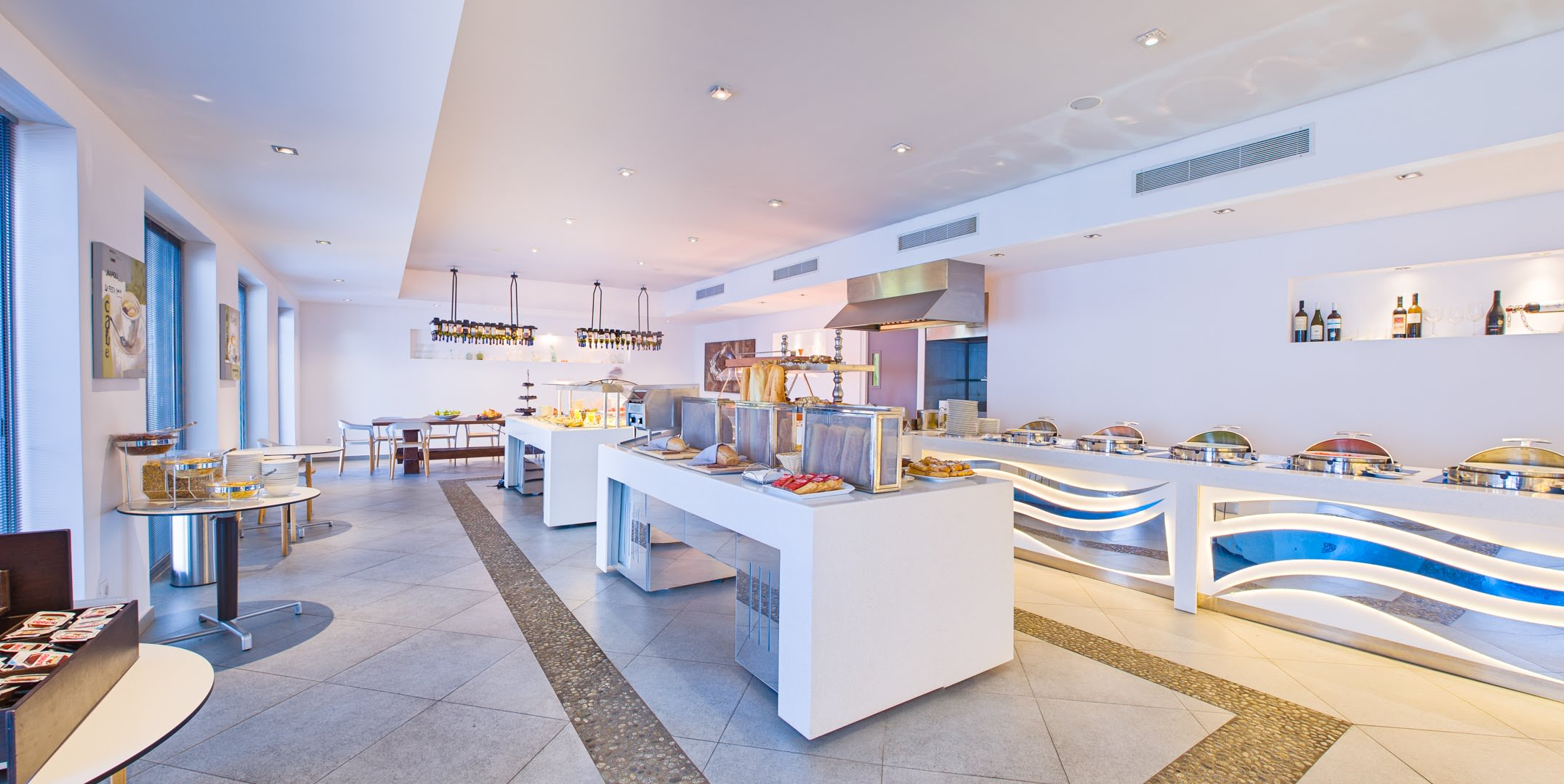 skopelos hotels adrina resort buffet 2