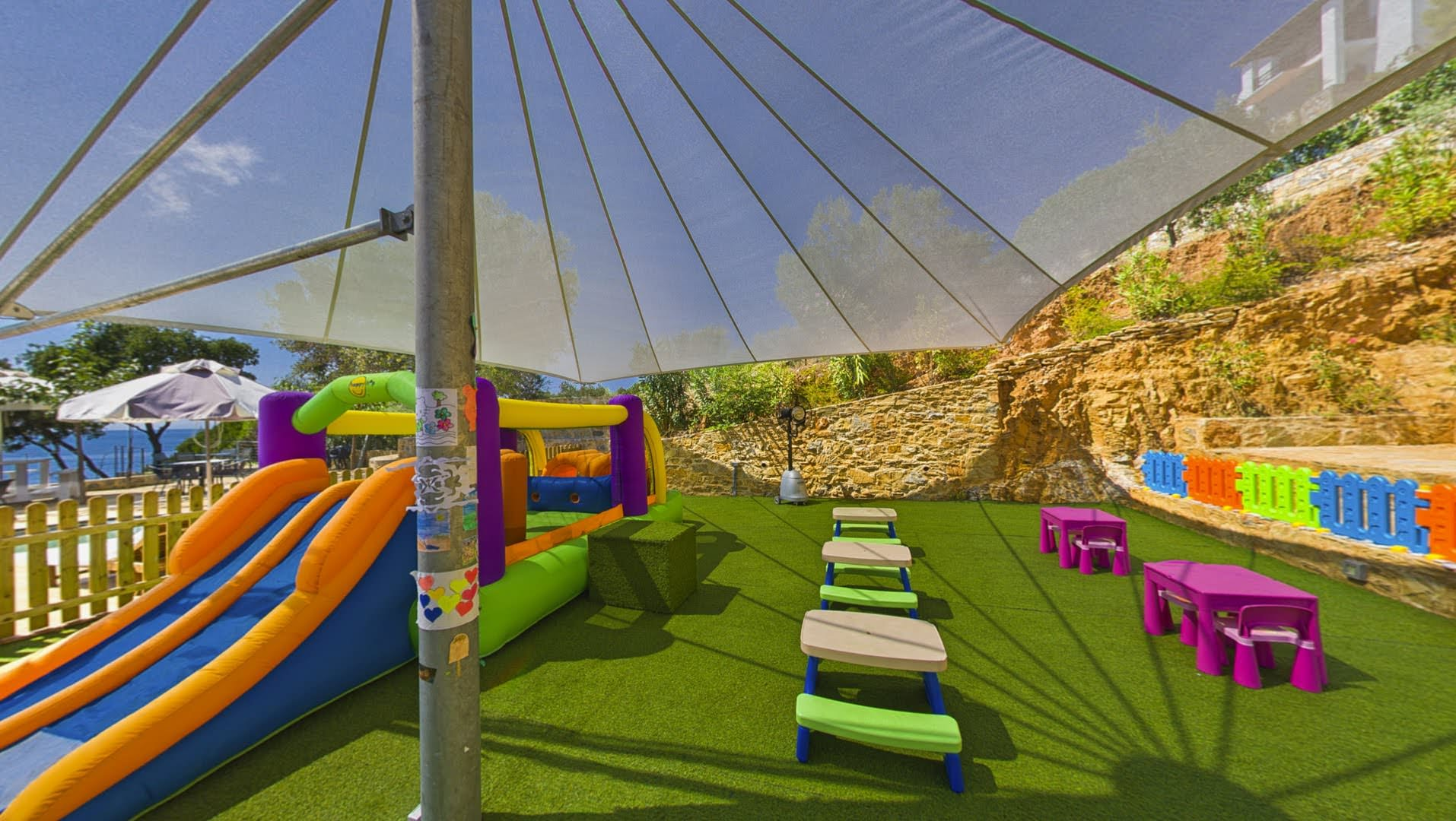 skopelos hotels adrina resort children playground 13