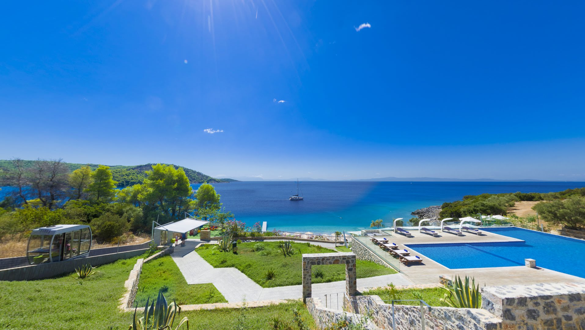 skopelos hotels adrina resort pool villa 32.07