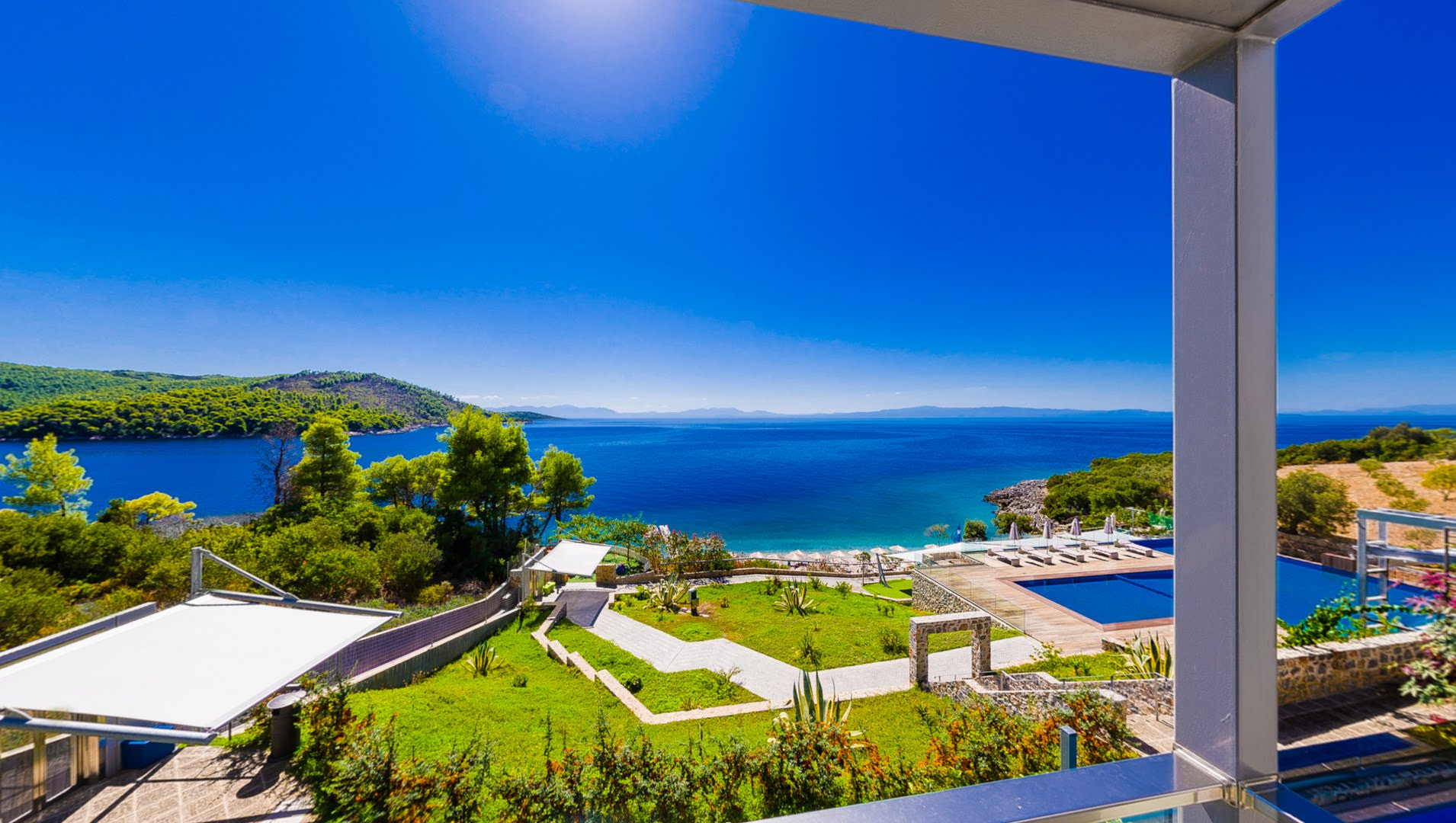 skopelos hotels adrina resort pool villa 56.49