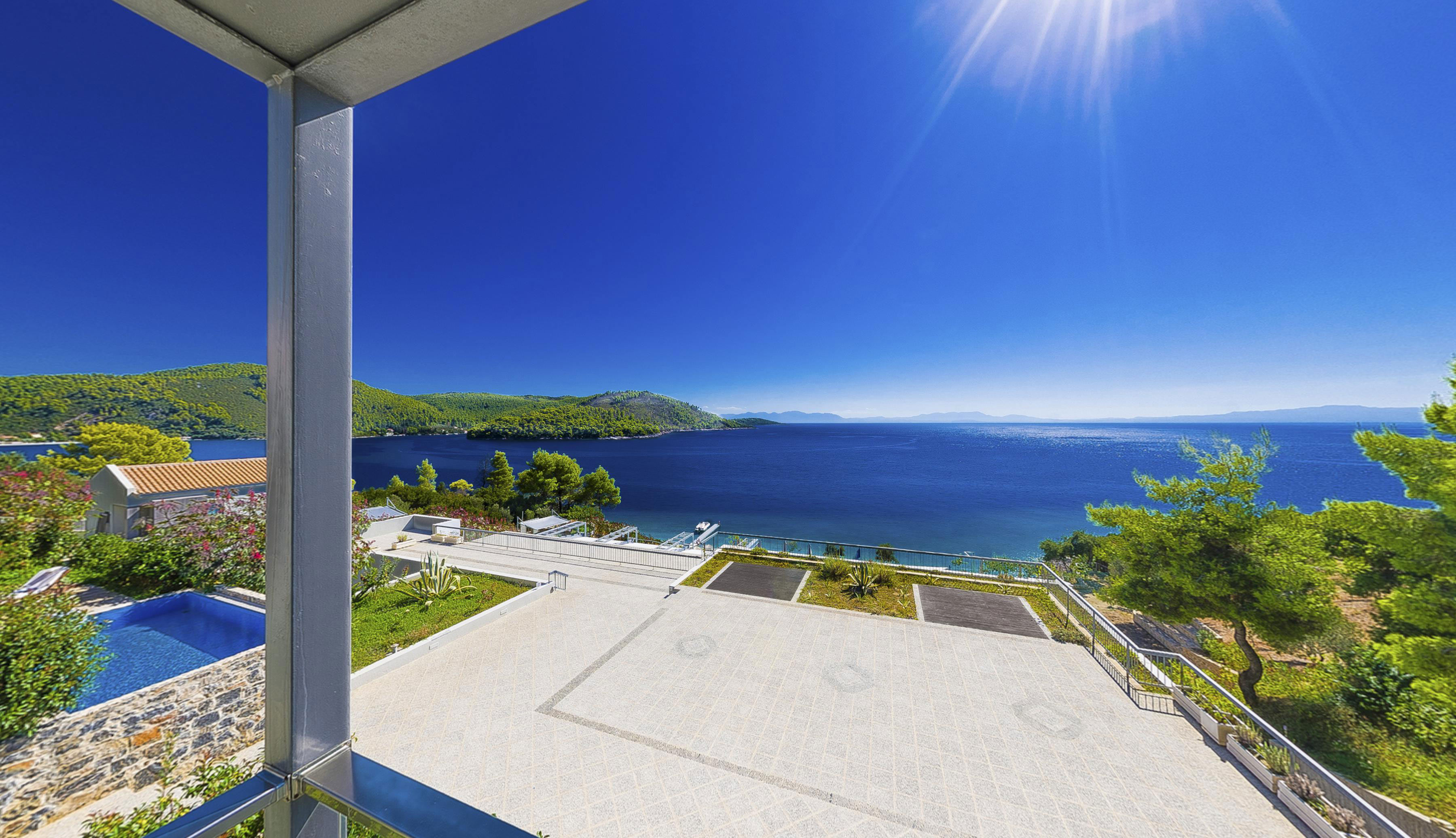 skopelos hotels adrina resort 2 beroom 2 level villa 608